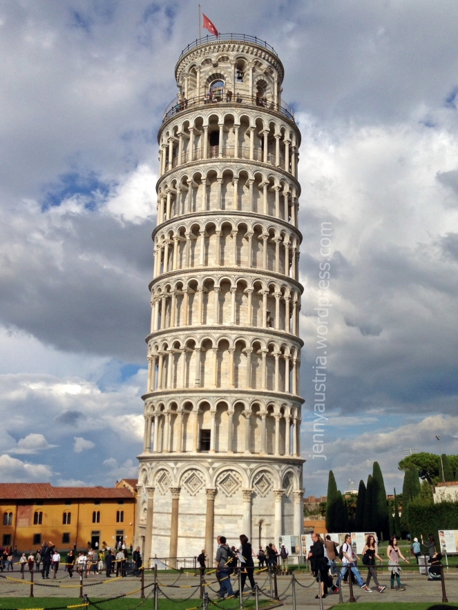 Okay, back to Pisa...
