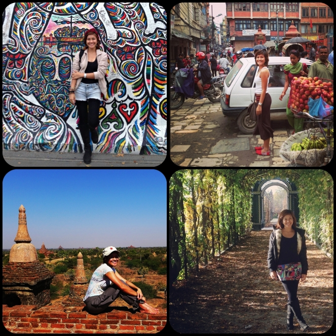 Berlin, Kathmandu, Vienna, Bagan