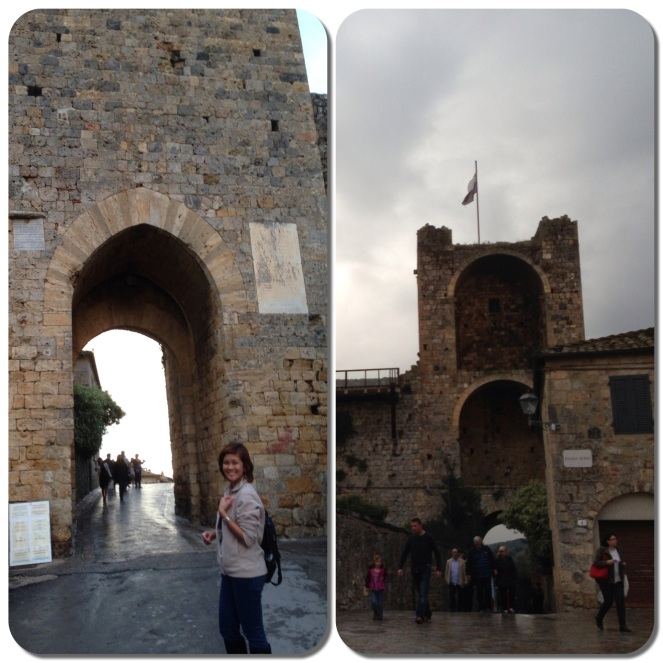 We ended our trip in Monteriggioni, a commune in Siena with a beautiful medieval fortress.