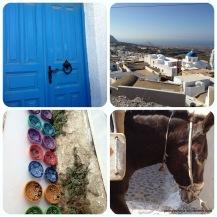 Snapshots of Pyrgos, a local village