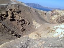 Rough gravel surface