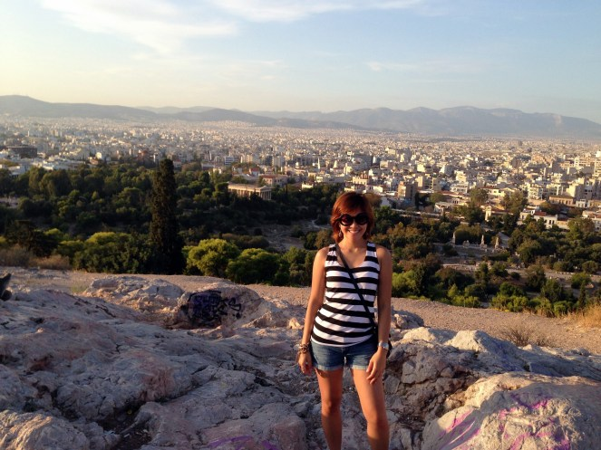 Aries Rock was my favorite spot in Athens. Great view of the city, but beware of pickpockets up there!