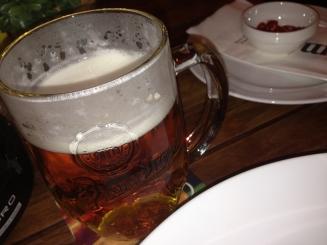 I like Czech beer.