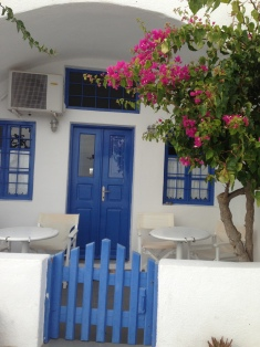 Santorini owns the blue and white combo!
