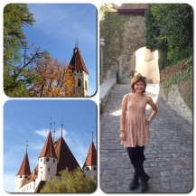 Thun Castle, a 12th century medieval castle and perhaps the most prominent landmark of Thun.
